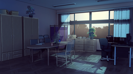 Background to the visual novel Deadlock