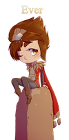 [Comm] Chibi Taliyah by rodrigues-feh