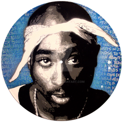 Tupac by red-wine