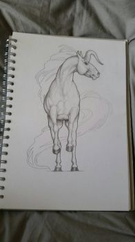 Angry Unicorn  by horsy1050