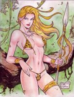 Jungle Girl (#9) by Rodel Martin by VMIFerrari