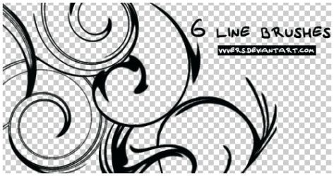 6_line_brushes_by_vers by vvvers