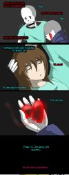 Undertale New world (page 104) by joselyn565