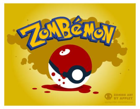 Zombemon by appleyrotten