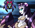 Shantae Spiders by rongs1234