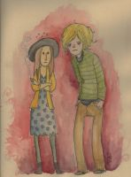 Tate and Violet by iamcasey