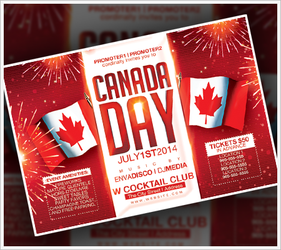 Canada Day Festival Flyer by RomacMedia
