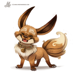 Daily Painting 752. Kanto - 133 REDO by Cryptid-Creations