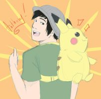 Pikachu Backpack. by SkyDrew