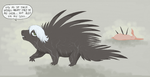 Angsty Porcupine by KelpGull