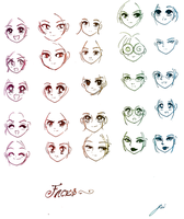 25 Faces by NeonGenesisEVARei