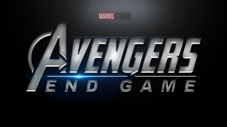 Avengers: End Game - Logo by Beliofen