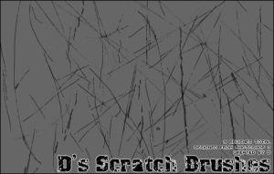 Scratch brushes set 1 by d
