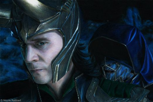 Avengers - Loki and The Other by Quelchii