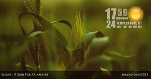 SLIGHT for RAINMETER by mACrO-lOvE