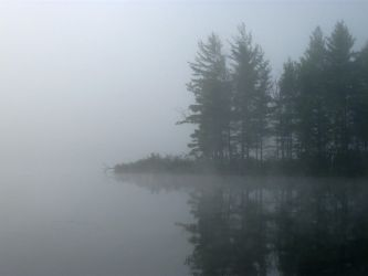 Foggy Lake - 4 by BVicius