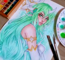Star Guardian Soraka by LenielSOna