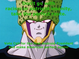 Cell For President by lightyearpig