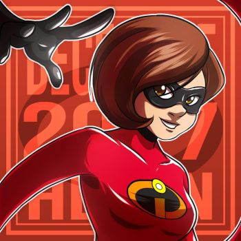 Girl of The Month : Helen Parr (The Incredibles) by AngelMJ
