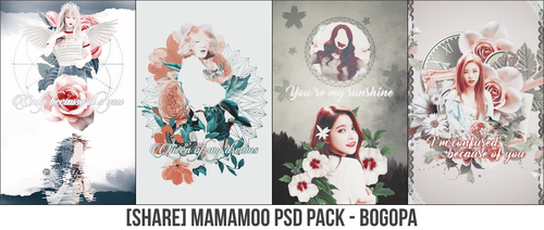 [SHARE] MAMAMOO PSD PACK - BOGOPA by Bogopa