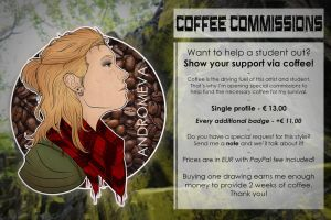 Coffee Commissions [OPEN] by Andromeva