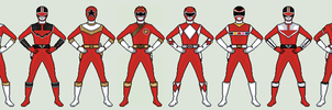 Power Rangers Wild Force - Forever Red by vandersonmetal