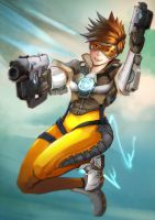 Overwatch Tracer by JKLiew92