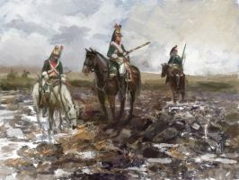 French Dragoons by Mitchellnolte