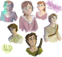 Epic - MK and Nod sketches by candlehat