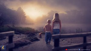 TWO CHILDREN by rajrkb