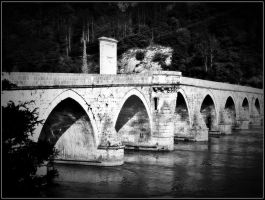 Visegrad- Old Bridge I by VesnaRa014