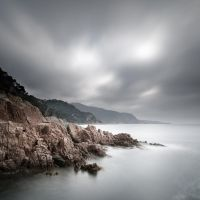 Storm on San Feliu by marcopolo17