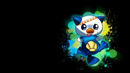 Oshawott Wallpaper by TommyChu1987