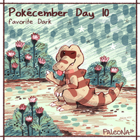 Pokecember Day 10 by Paleona