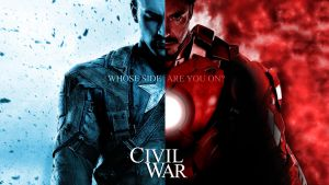 Civil War - Marvel Cinematic Universe by phantomzer0