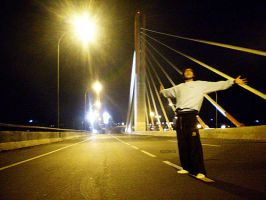 Me at pasopati bridge by spiderio