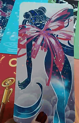 Sailor moon shiny bookmarks by Lualapin