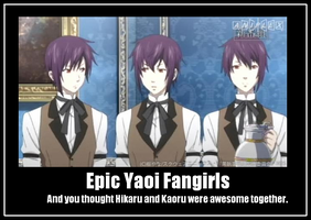 Epic Yaoi Fangirls by silly-butlers