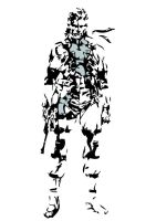 Solid Snake Art by st-solid-snake