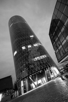 Westhafen Tower by slaute