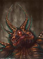 Conjoined Twin Monster by TheDragonofDoom