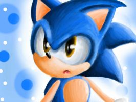 Classic Sonic (Colors 3D!) by Luke-ario