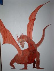 Red Dragon by Angelinhel
