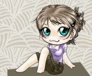 uh, me as a chibi D_D by dhqx