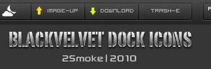 BlackValvet Dock Icons by neodesktop