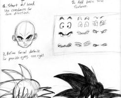 How to Draw DragonBall Z Style by sonigoku