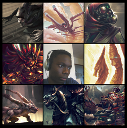 My very first #artvsartist by K-hermann