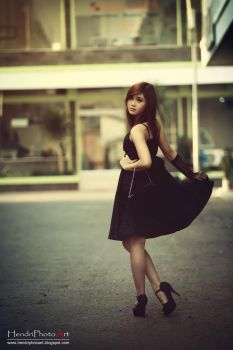 Black Dress by blue3yes182