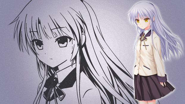 Angel Beats Wallpaper - Tenshi by narutojapanesefan999