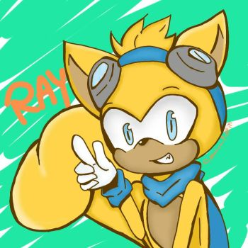 Ray the Flying Squirrel by mahou-puffin8410